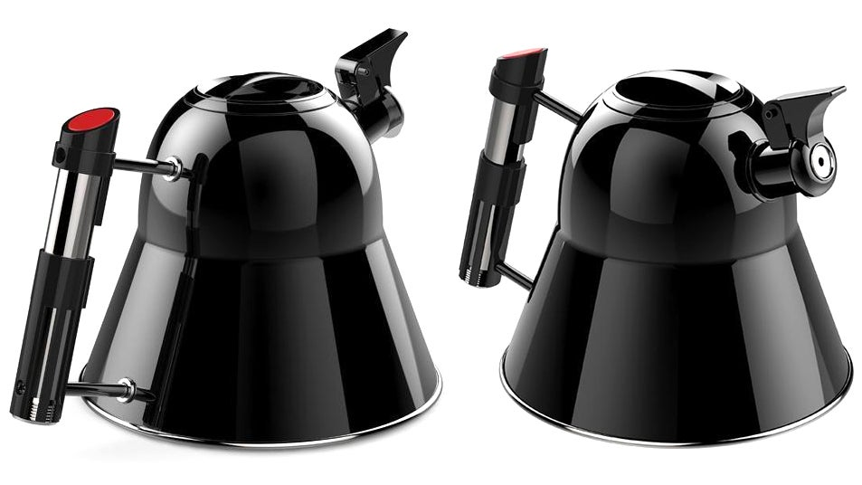 I'm Going To Make Myself Like Tea So I Can Justify This Gorgeous Darth Vader-Inspired Kettle