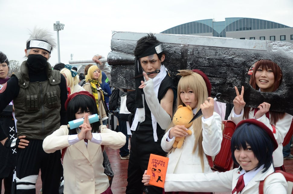 Year-End Cosplay in Japan: The Cute, the Sexy, the Weird