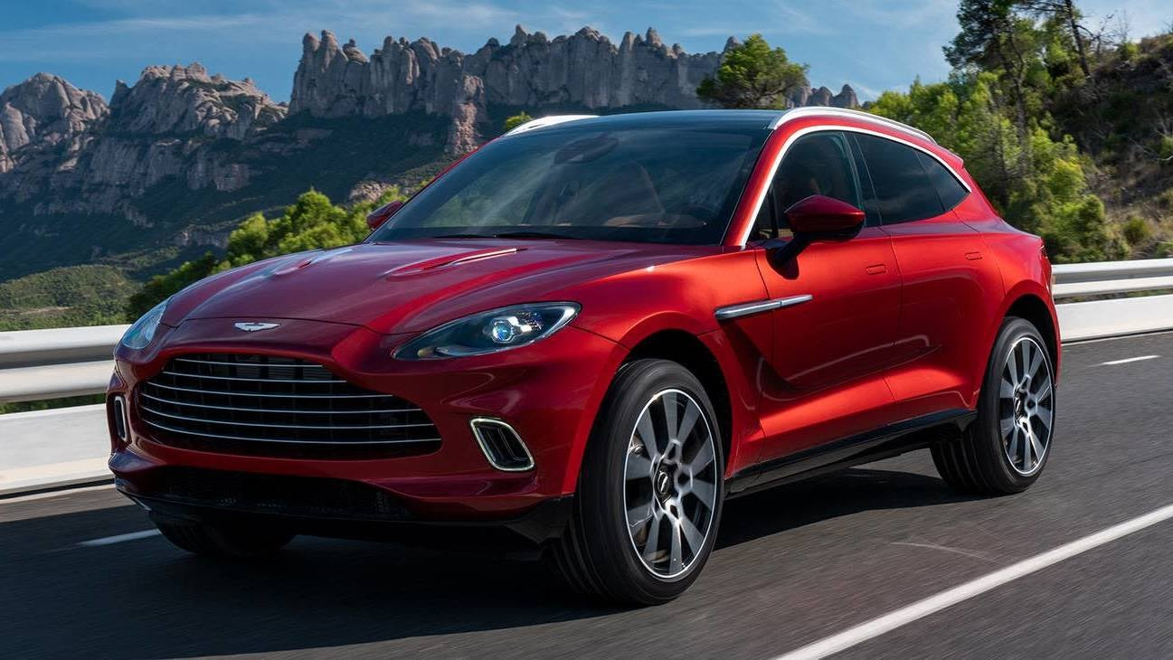 Don't Expect An Electric Aston Martin Until 2025