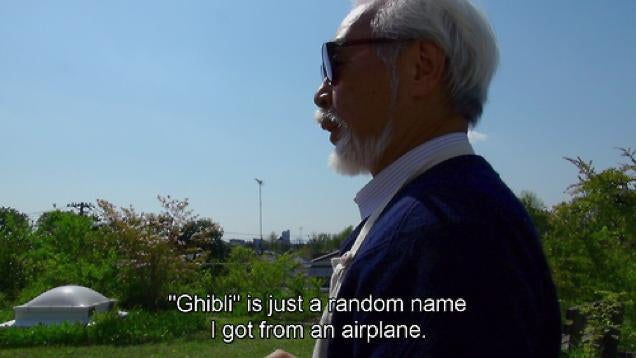 Are You Worried About Studio Ghibli? Miyazaki Apparently Isn't.