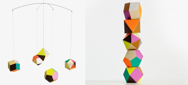 Hang These Polyhedrons Wherever You Need Some Colourful Geometry
