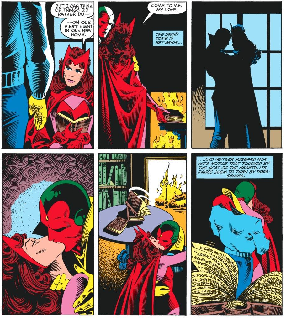 The Vision and the Scarlet Witch Have Had Marvel Comics' Most Fucked-Up Superhero Romance