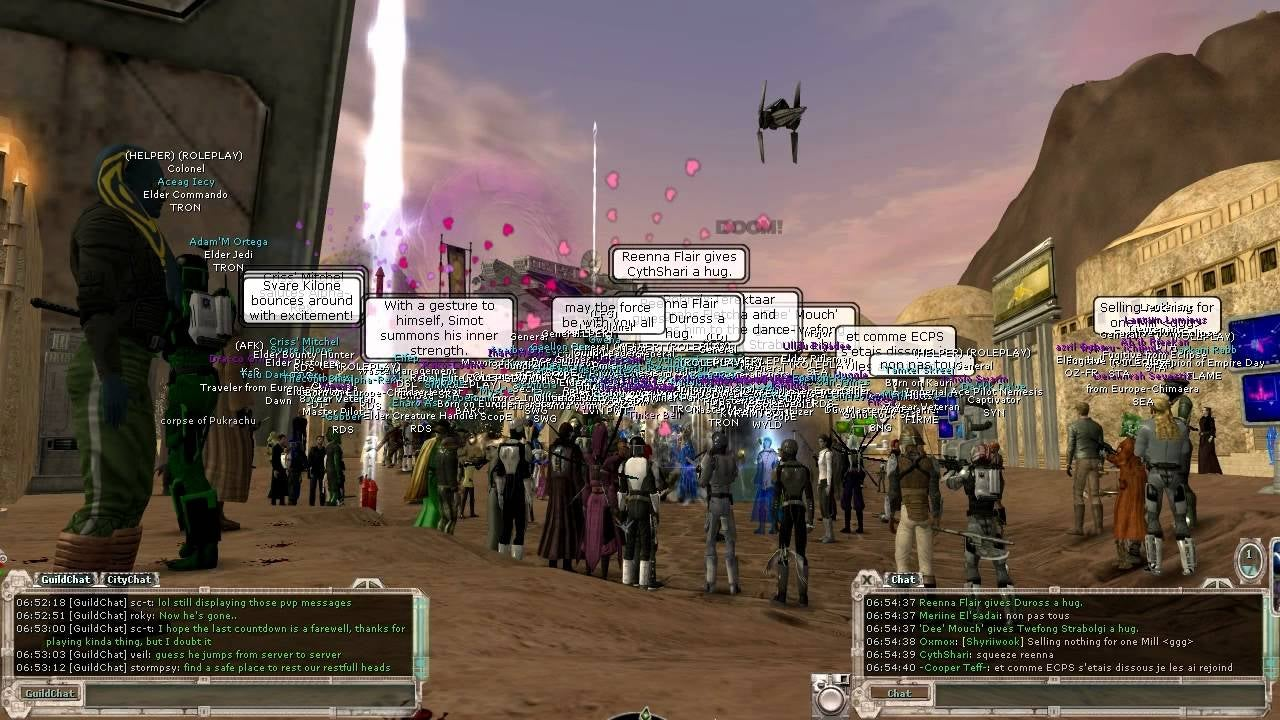 How Star Wars Galaxies Fans Brought A Dead Game Back To Life
