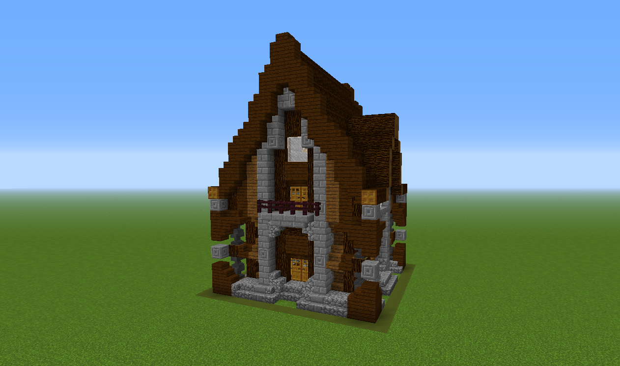 A fun new way to build in minecraft 39 chunk houses for Build a home