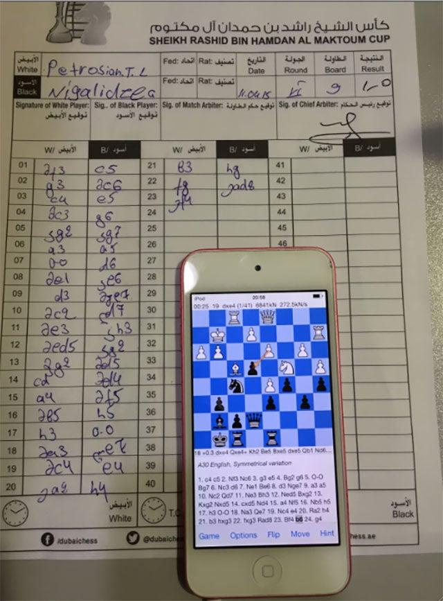 Grandmaster Caught Cheating On iPhone During Chess Tournament