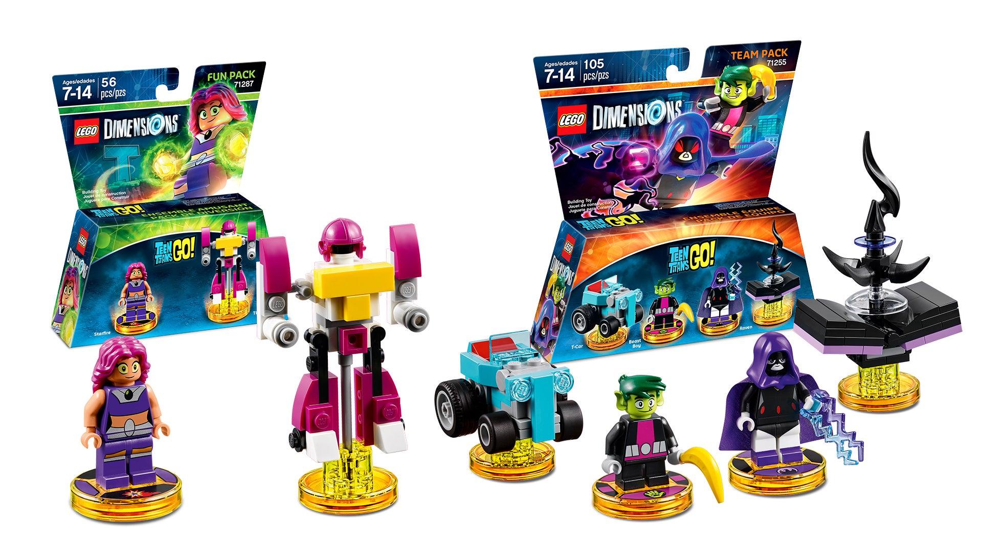 Toys For Teenage : The powerpuff girls and teen titans go come to lego