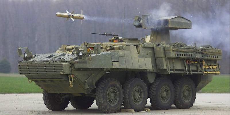 The USMC's Amphibious Tank Killer Gets a New Pop-up Missile Launcher