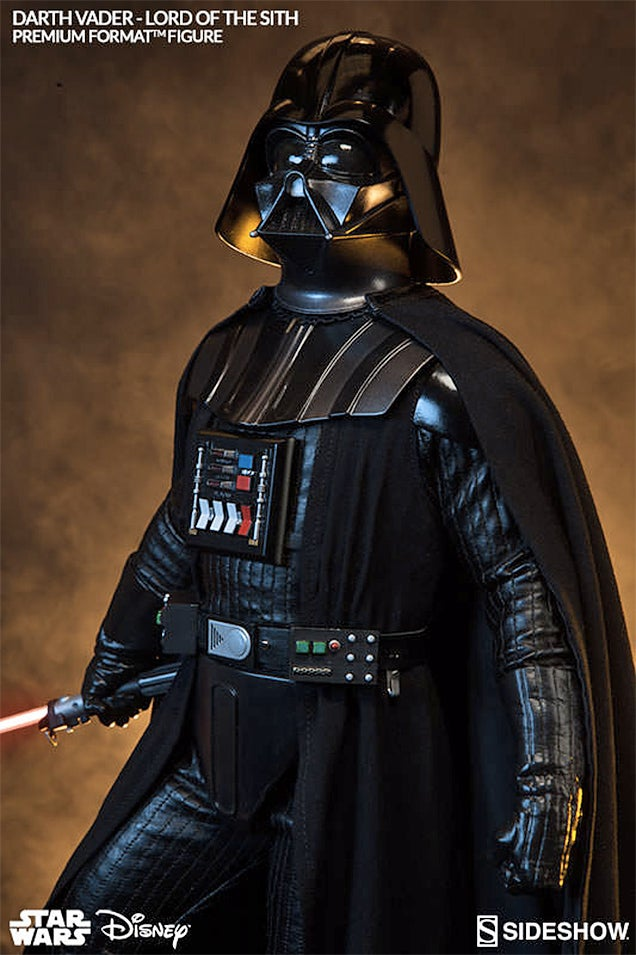 This Imposing Quarter-Scale Vader Figure Stands Over Two-Feet Tall