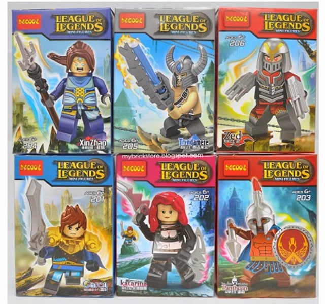 Fake League Of Legends LEGO Looks Awesome | Kotaku Australia