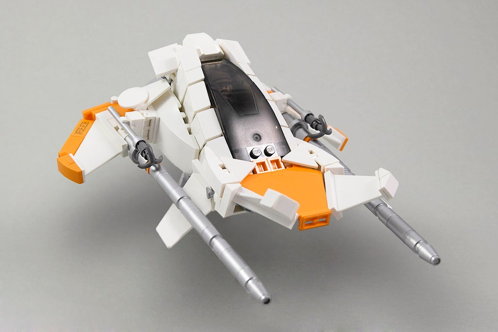 Redesigning Star Wars' Coolest Vehicles (Using LEGO)