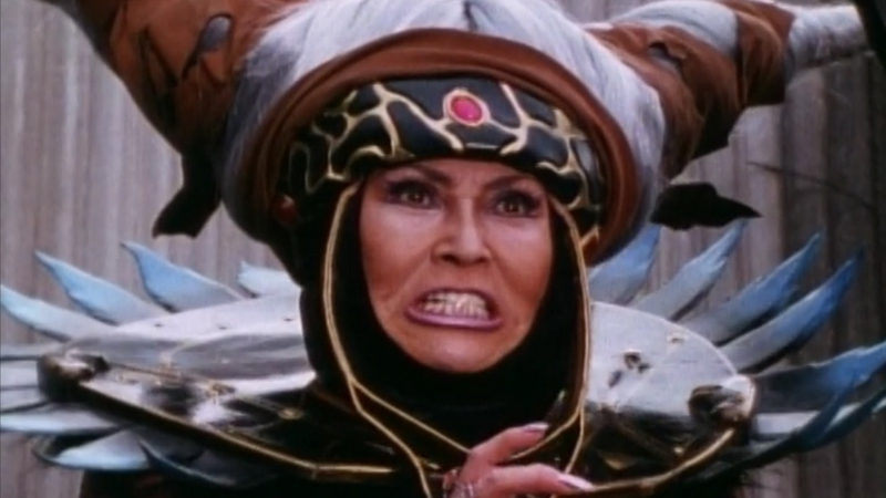 Here Is Your First Horrifying Look at Elizabeth Banks as Power Rangers' Rita Repulsa