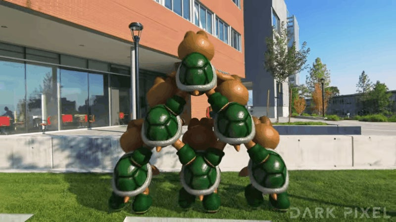 Super Mario Parkour In Augmented Reality Is Beautifully Bonkers