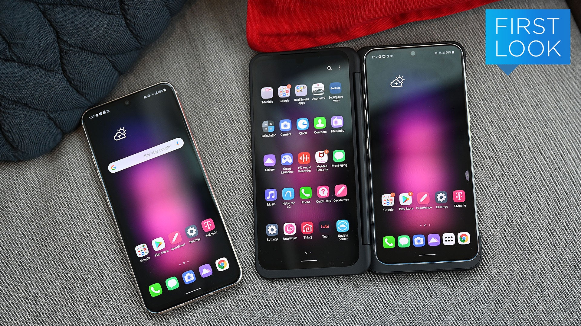 LG V60 First Look: LG Can't Quit Dual Screens