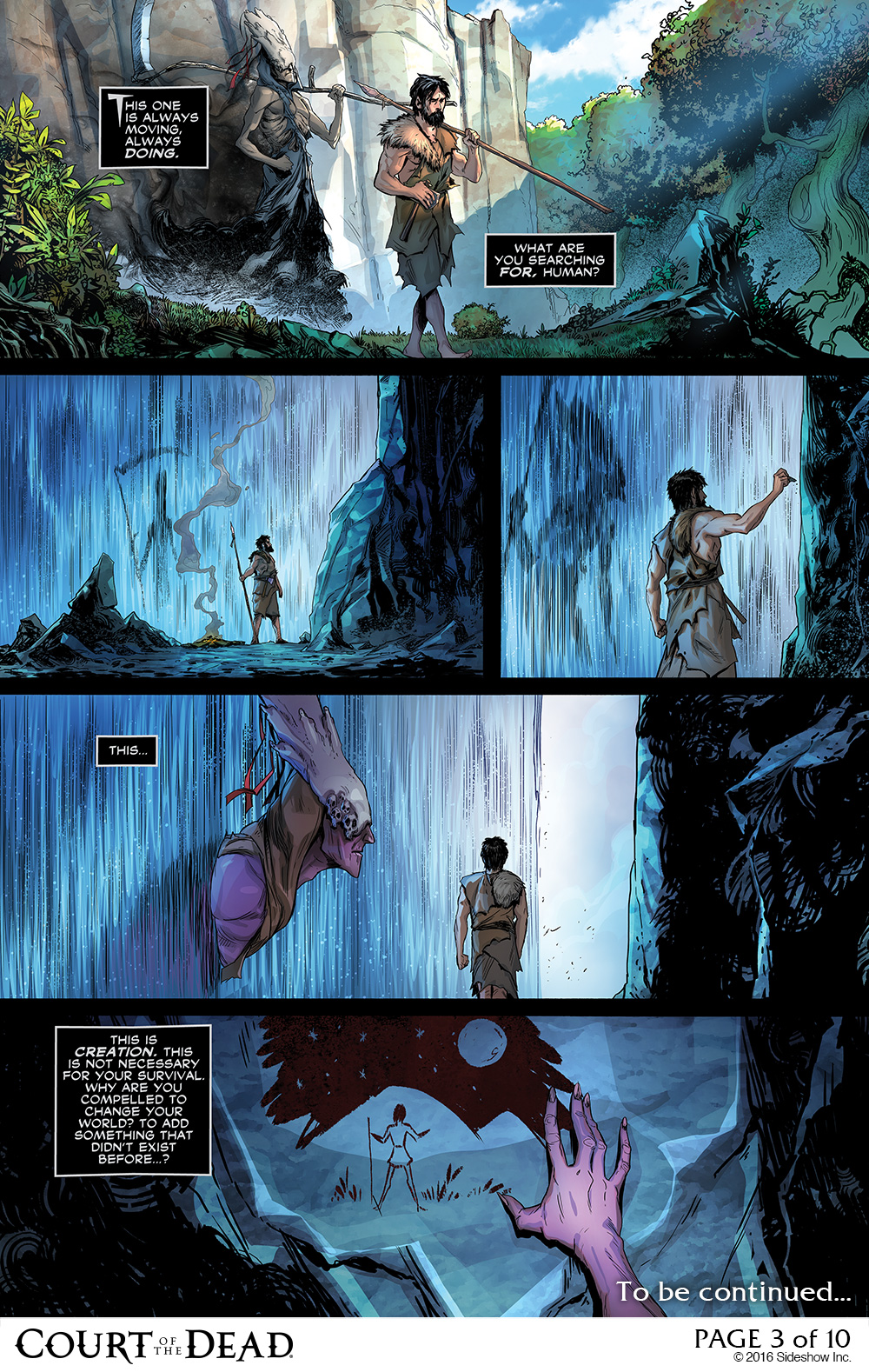 Discover the Battle for the Underworld In This Comic Preview for Court of the Dead