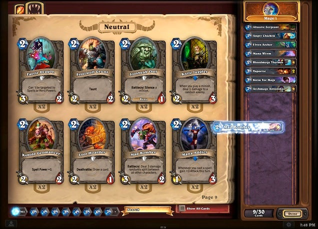 Blizzard Bans Thousands Of Bots From Hearthstone