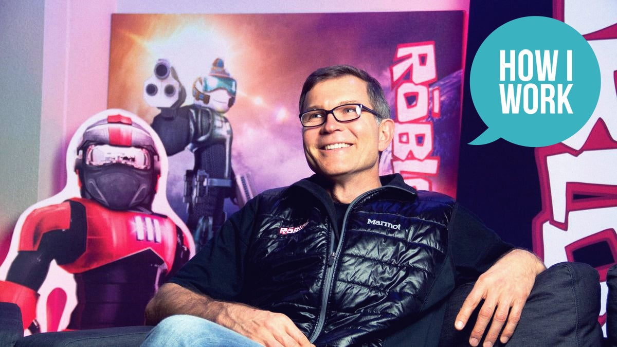 I'm DavidBaszucki, CEO Of Roblox, And This Is How I Work