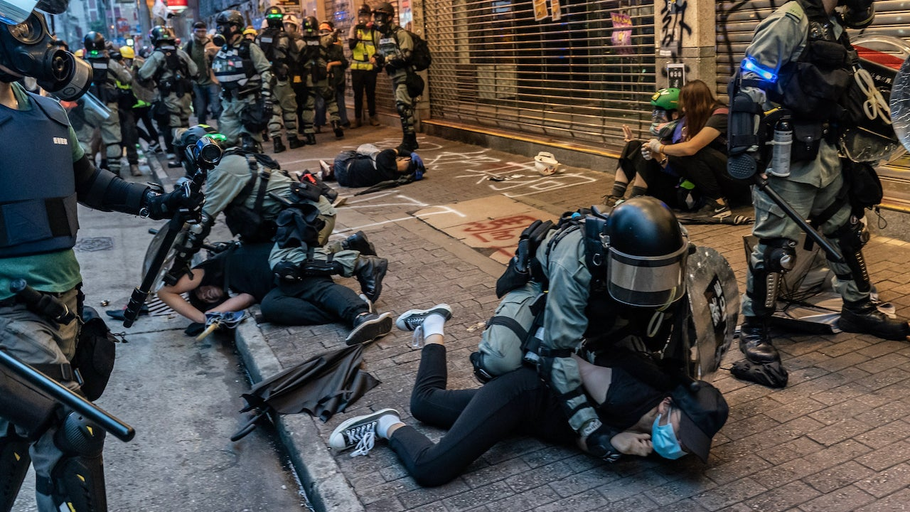 Apple Sells Out Pro-Democracy Protesters In Hong Kong To Appease Chinese Government