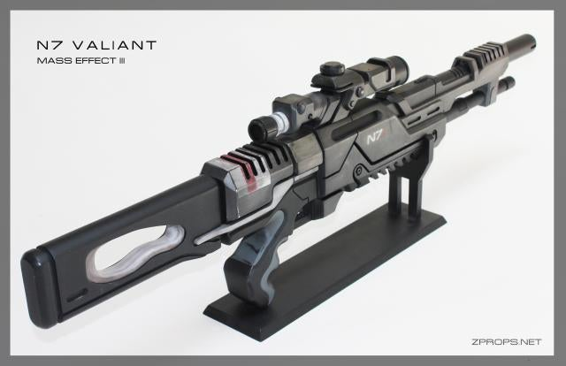 Real Mass Effect Sniper Rifle Does Not Need Calibration