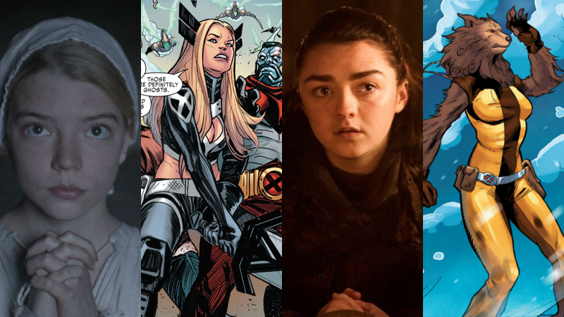 Men spin-off New Mutants casts Anya Taylor-Joy, Maisie Williams
