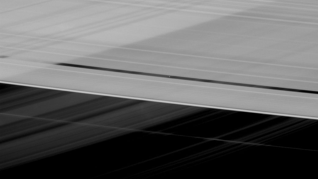 Why on Earth Are Saturn's Rings Crossing Each Other?