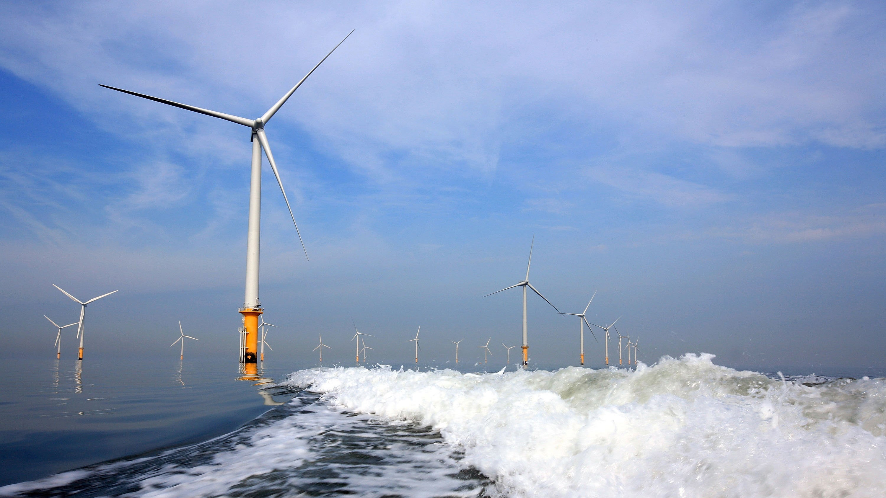 The World's Largest Offshore Wind Farm Just Came Online