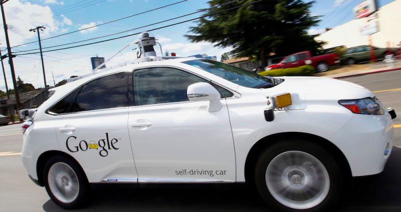 Google Is Asking Congress To Create Special Rules For Self-Driving Cars