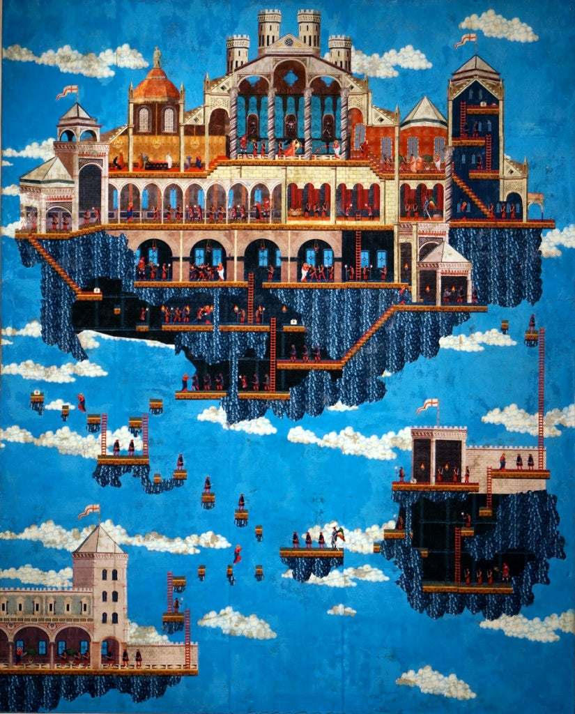 Space Invaders And Other Classic Games As Renaissance Paintings