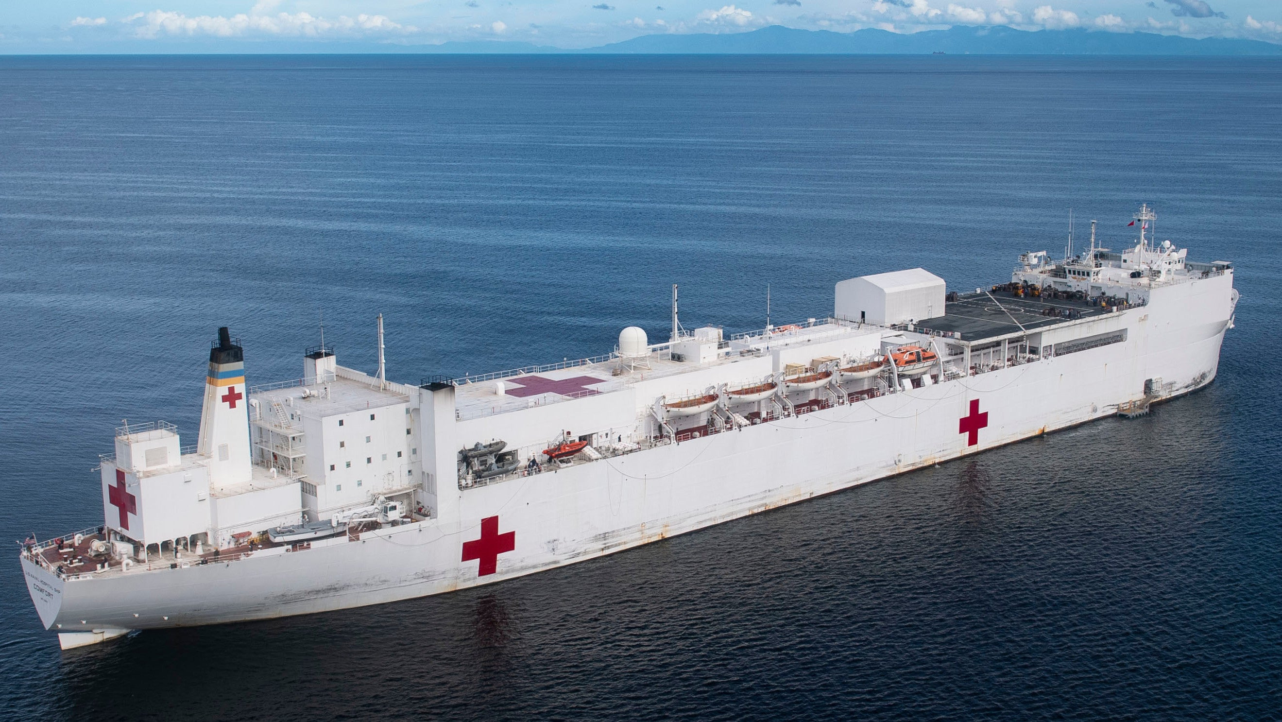 The World's Biggest Hospital Ship Is Coming To NYC To Help Fight Coronavirus
