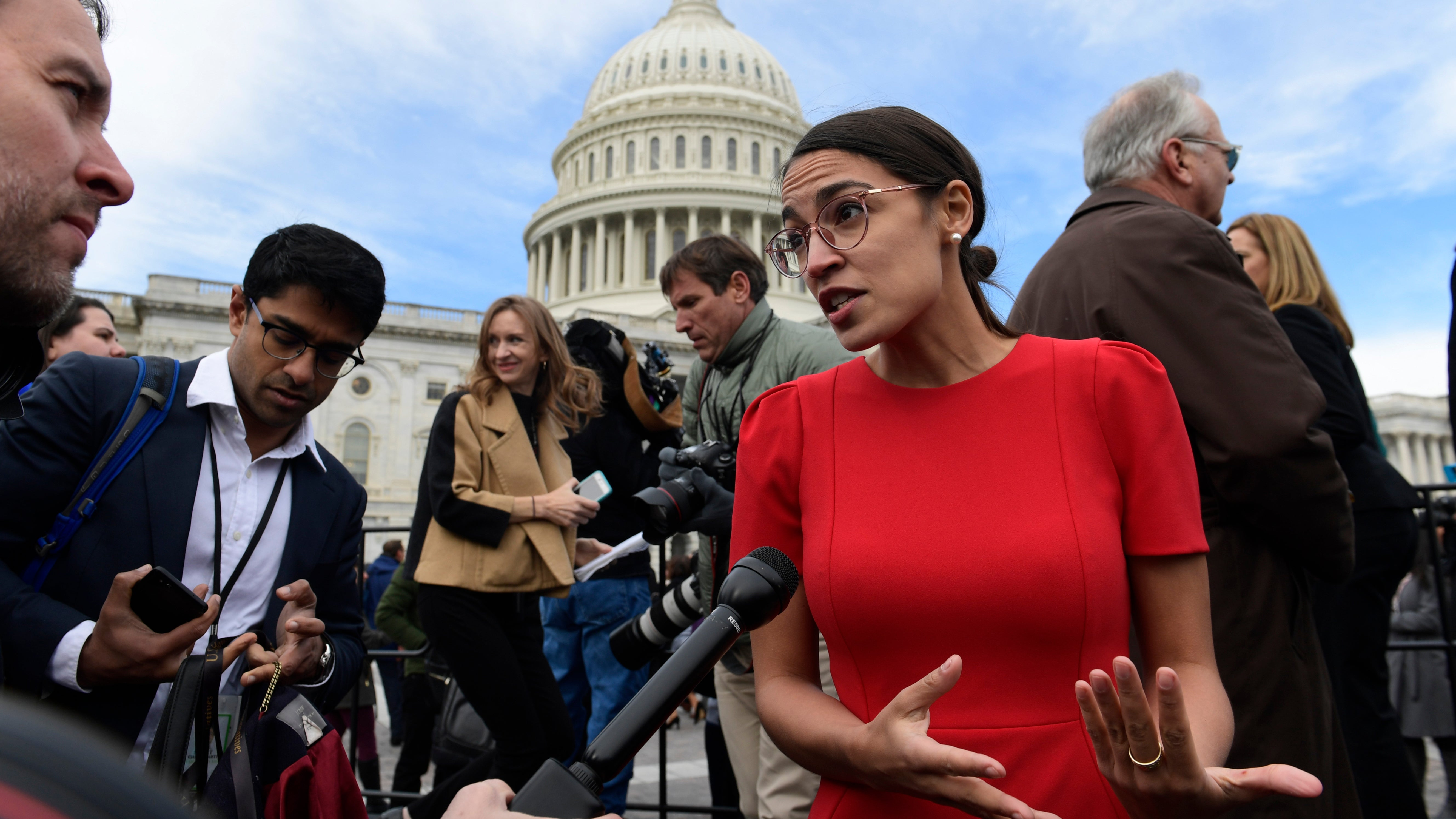 Alexandria Ocasio-Cortez On Climate Report: 'It's Not Enough To Think It's Important'