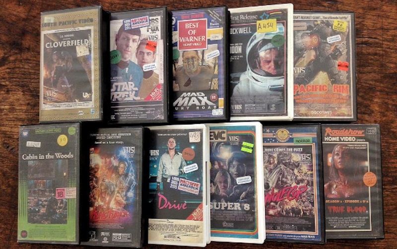 Artist Creates Classic VHS Covers For Modern Movies