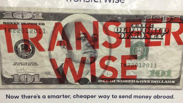 What Are These Bizarre Anti-Banking Ads Doing in New York's Subways?