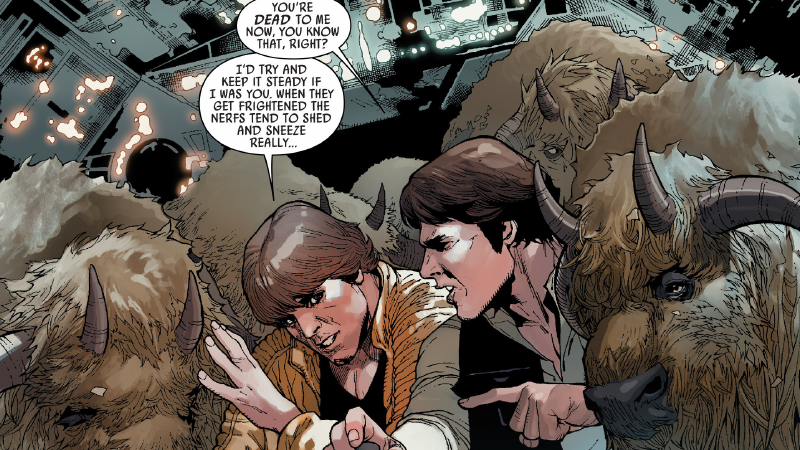 Marvel's Star Wars Comic Gives Us an Origin for Empire Strikes Back's Funniest Moment