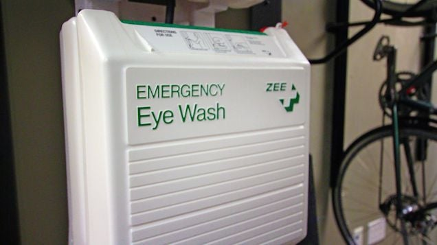 Emergency Eye Wash And Other Strange Things At Valve's Offices