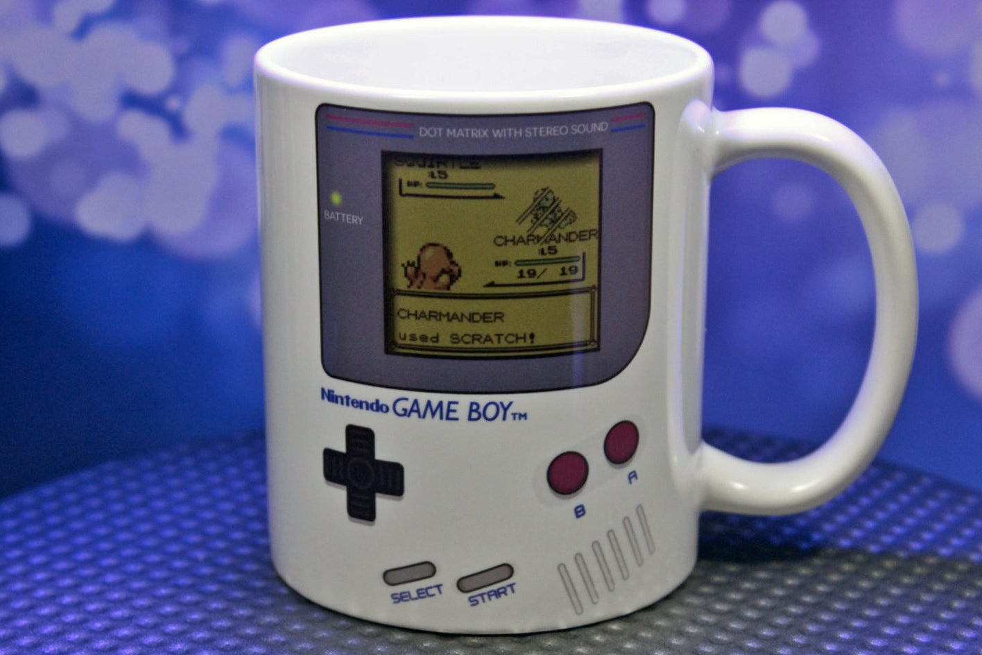 Game Boy Pokemon Mugs, Because Caffeine Is Your Real Champion
