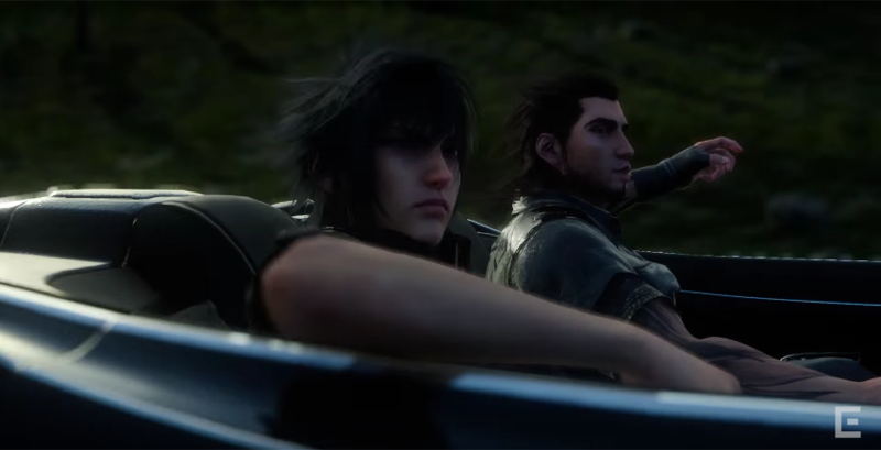 The Final Fantasy XV Anime Compared with the Game