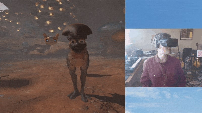 VR Game At A Glance: Playing With My Alien Friends in Farlands