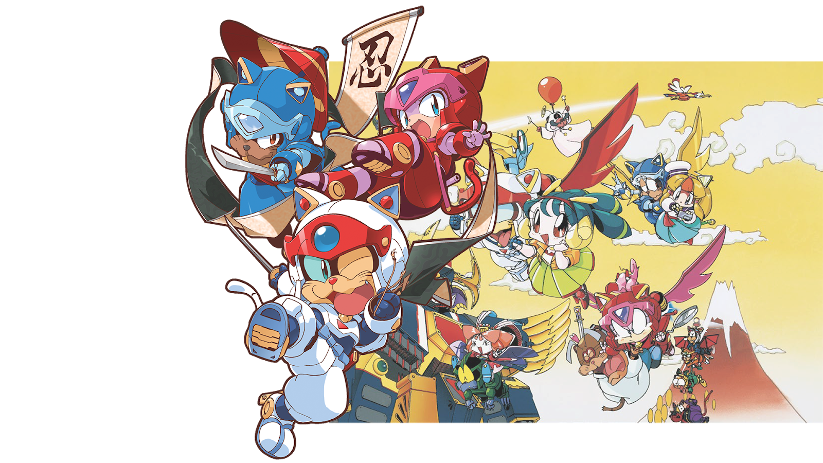 The Samurai Pizza Cats Official Fanbook Explores The Series' Japanese Roots