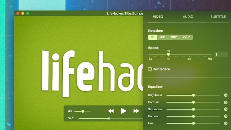 IINA Is Mac-Focused Video Player With Modern Design