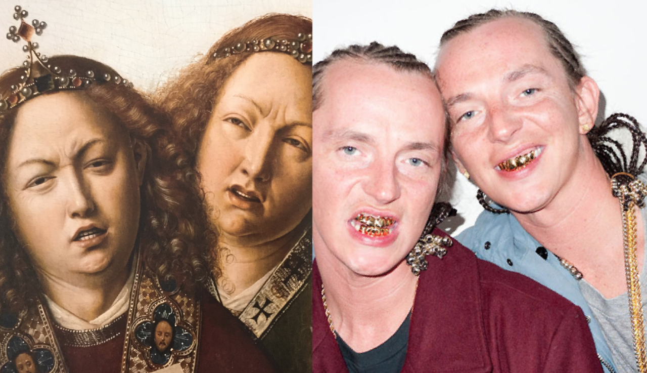 Rap stars and their uncanny Renaissance art doppelgangers