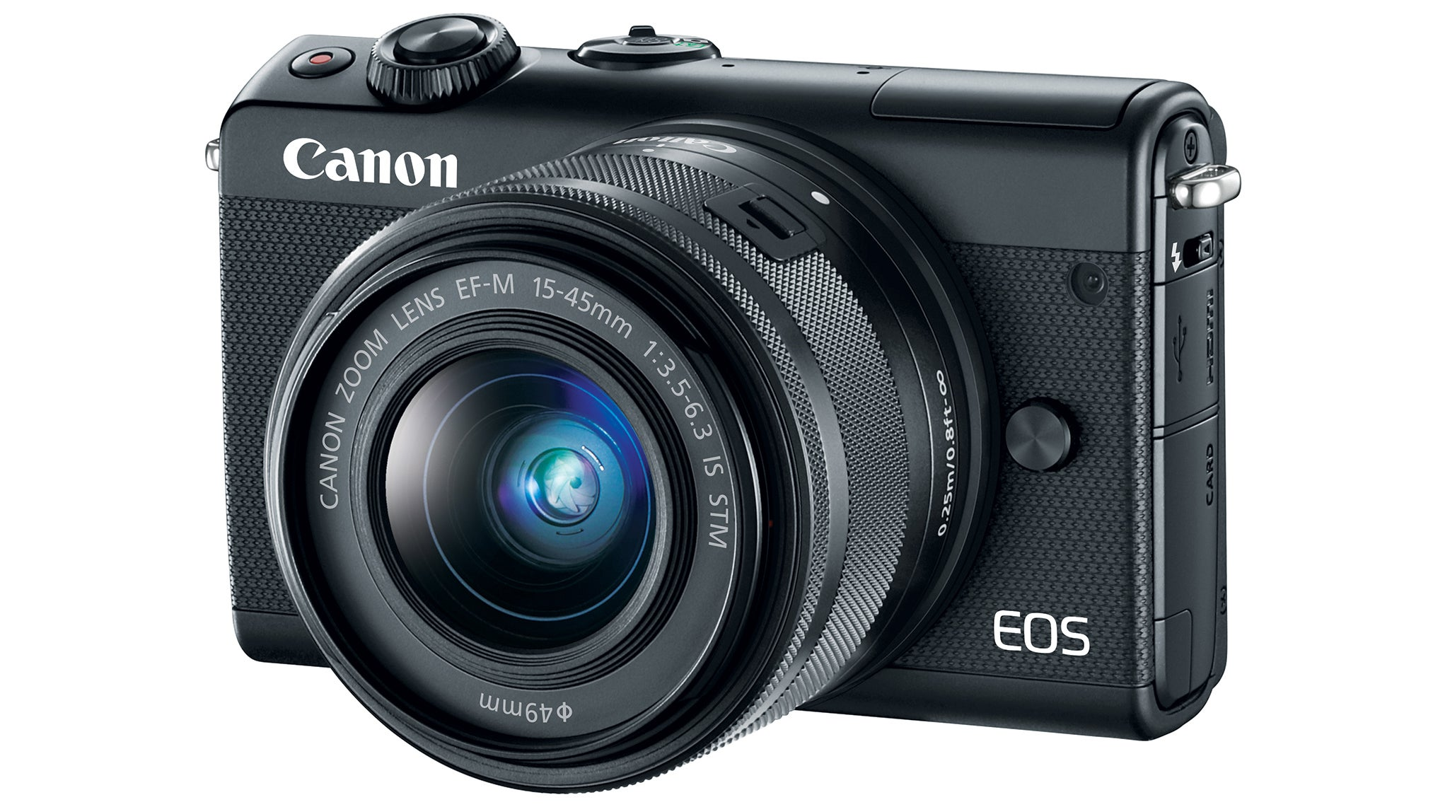 Canon's EOS M100 Is Another Apathetic Attempt At A Mirrorless Camera