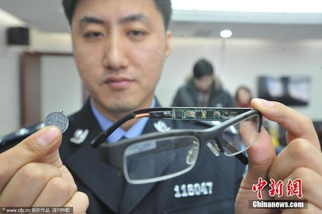 Chinese Test Cheating Tools Look Like Something Out Of James Bond
