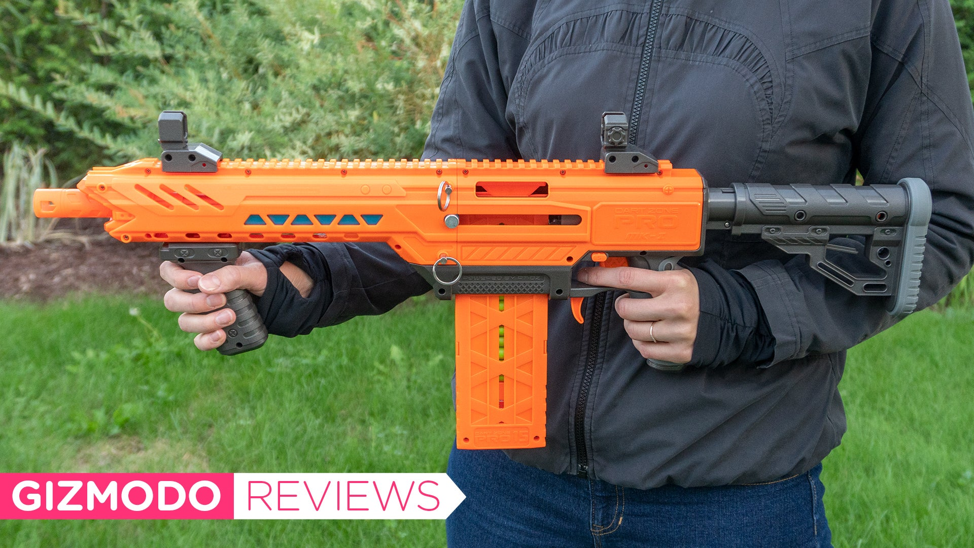 This $260 Dart Blaster Is More Powerful Than Anything Nerf's Ever Made