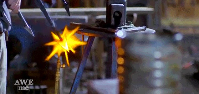 Watch a Real Life Version of Aquaman's Trident Get Made