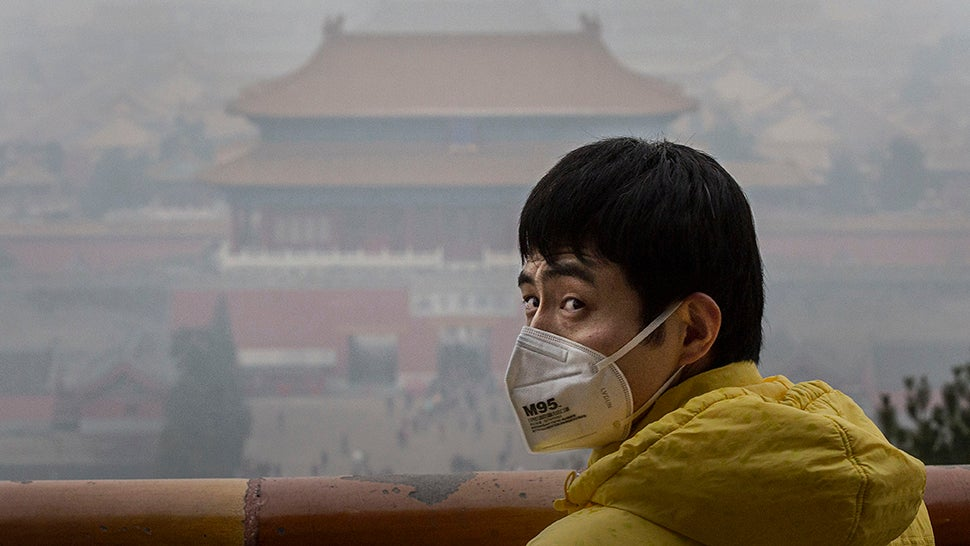 All Of That Pollution In Asia Turns Into Smog In The US
