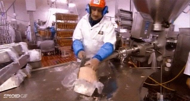 Video: How processed deli meat is made