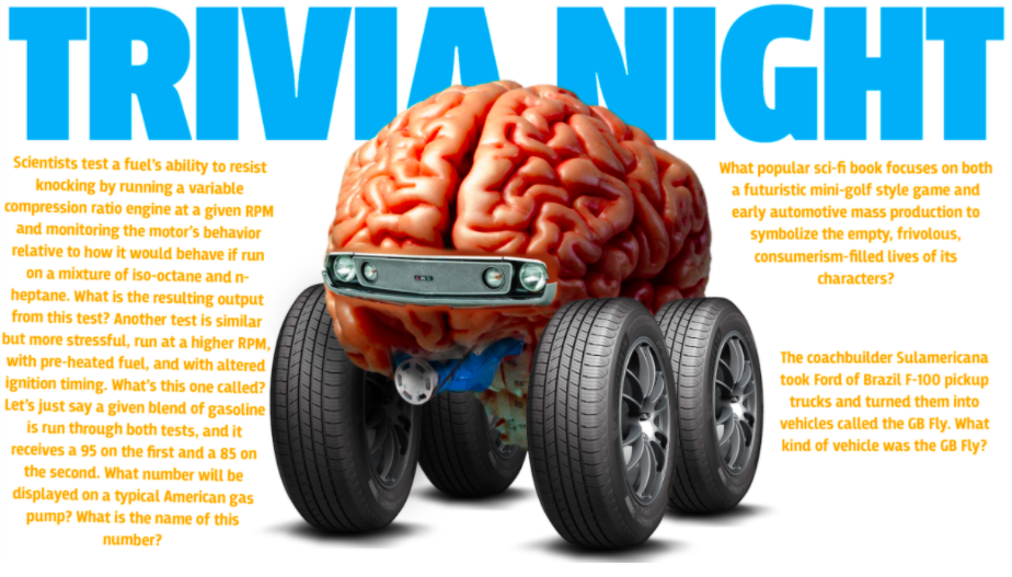 These Car Trivia Questions Are So Hard, It's OK If You Don't Even Know Half The Answers