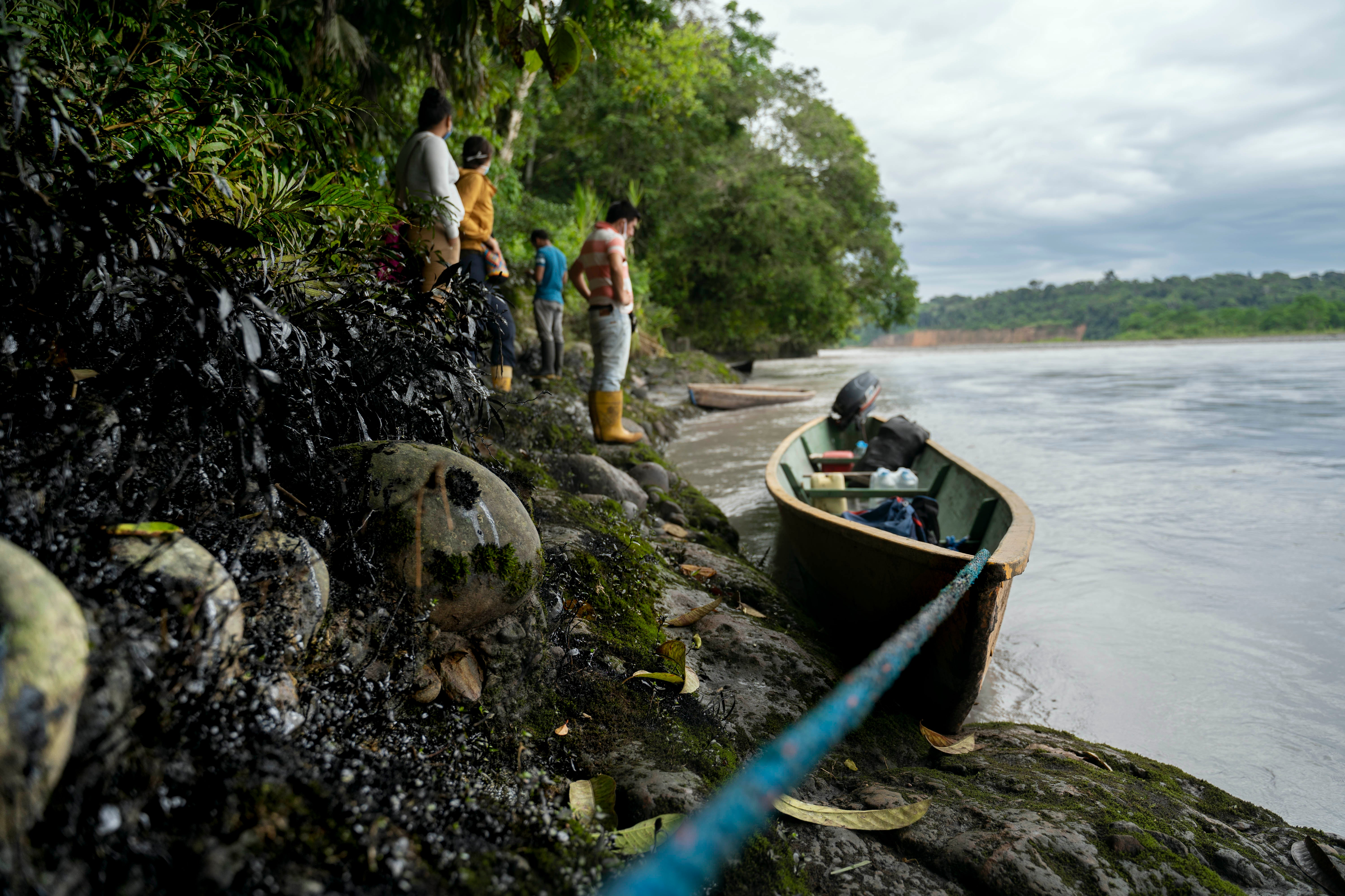 An Oil Spill And The Coronavirus Are Creating A Crisis In Ecuador's Amazon