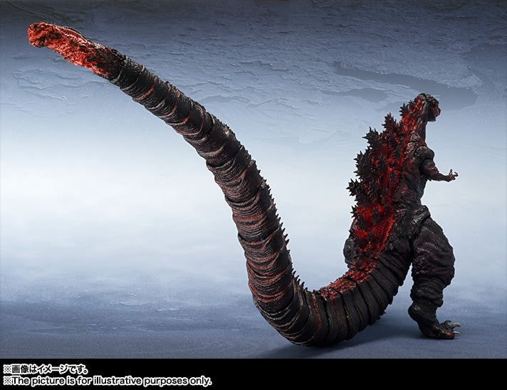 Japan's New Godzilla Makes for a Beautifully Monstrous Action Figure