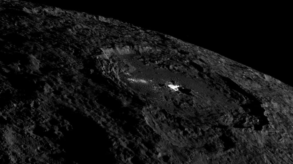 That Giant Bright Spot On Dwarf Planet Ceres Just Got Even Cooler