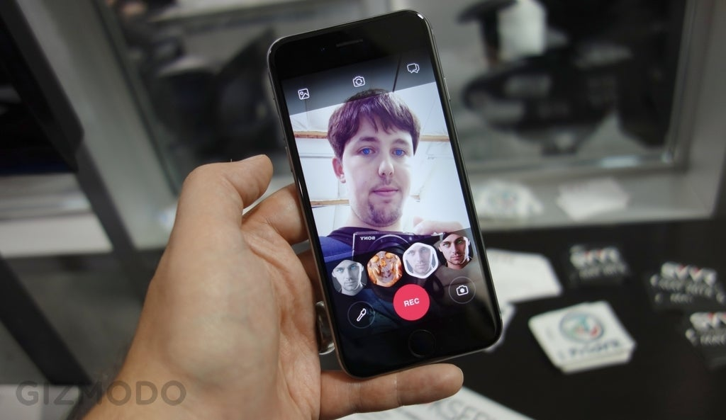 Looksery Changes Your Face In Real Time For Flattering Video Selfies